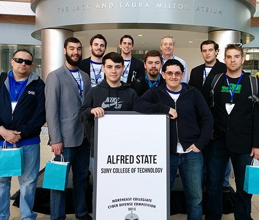 2015 Alfred State Cyber Defense Team