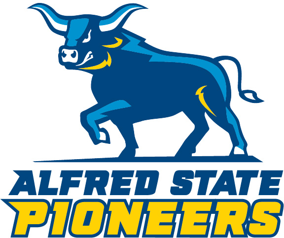 blue ox logo, Alfred State pioneers