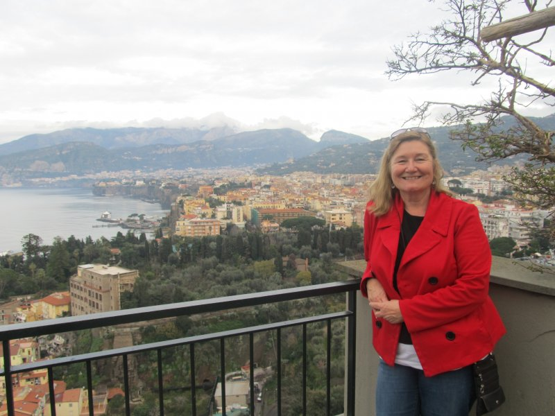 Dianne Clark, associate professor of Business/co-coordinator for Sant'Anna internships