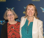 Linda Panter, left, and Valerie Nixon