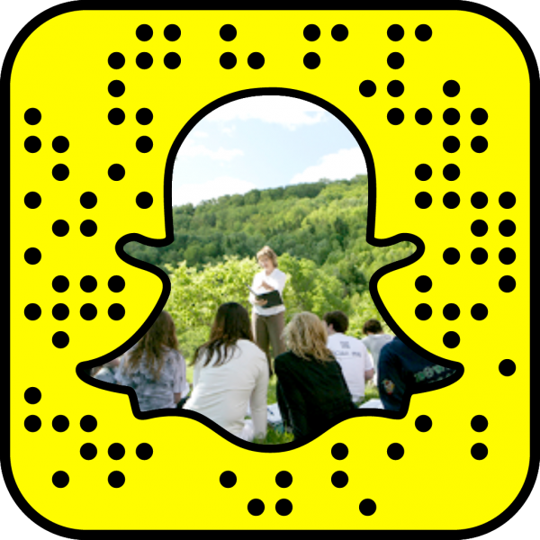 Snapcode linking to social and behavioral sciences web page