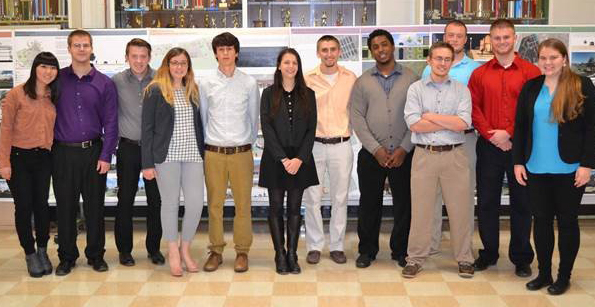 architecture students who presented to town of Southport