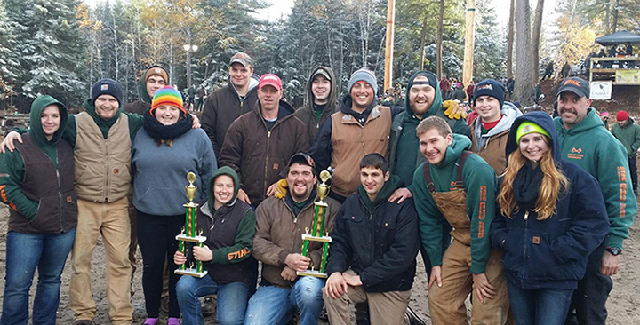 Pioneer Woodsmen's Club members 2015