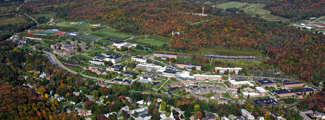 ariel view of the campus