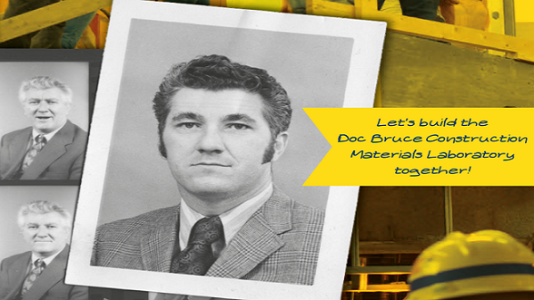 Let's build the Doc Bruce construction materials laboratory together!, image of Doc Bruce