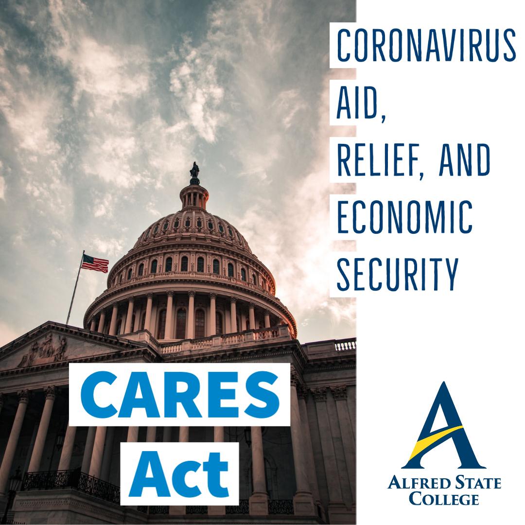 CARES Act - US Congress Building