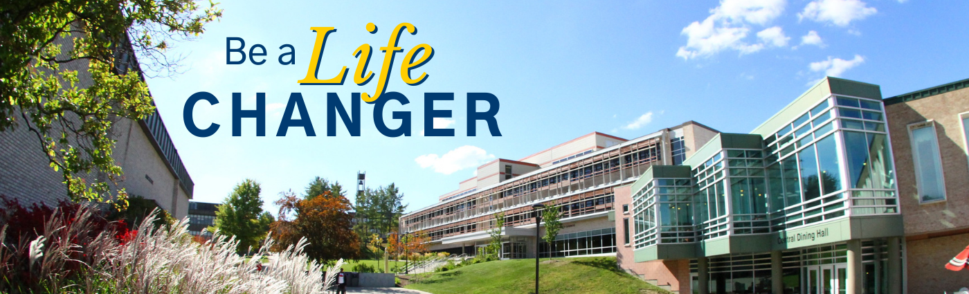 Be a Life Changer - image of campus in Alfred