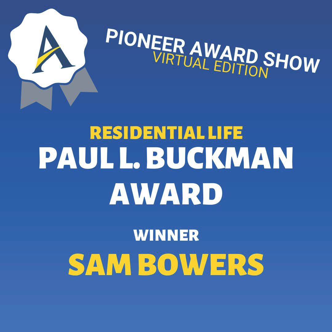 Award given out during virtual Pioneer Award Show