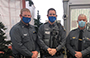 police officers wearing masks