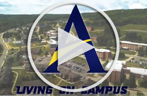 Living on campus video, link to YouTube
